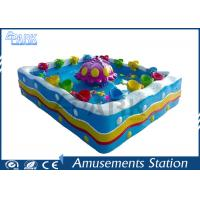 Game Center Coin Operated Big Fish Pond / Fish Hunter Game Machine For Children Manufactures