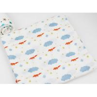 Factory Custom 2 Layers Muslin Soft Breathability Baby Cotton Washcloth Face  Long Life Time Manufactures