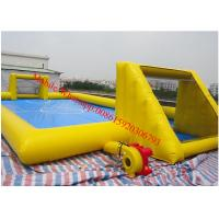 inflatable football pitch inflatable football field nflatable soap football Manufactures