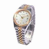Metal Wristwatch with Stainless Steel Material Manufactures