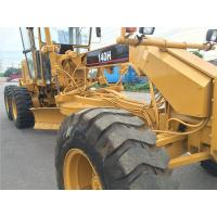 Second Hand Compact Motor Grader Caterpillar 140 2800hrs Wihout Oil Leakage Manufactures