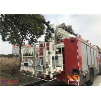Quality 100km/h 4x2 Drive 6 Cylinder Diesel Engine Aerial Ladder Fire Truck for sale
