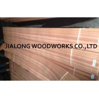 Quality Sapele Wood Quarter Cut Veneer Sheet Natural Pink For Plywood for sale