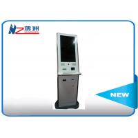 Anti - vandal utility Bill payment kiosk touch screen all in one cash acceptor machine Manufactures