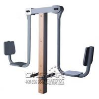 Buy cheap china outdoor park gym equipment park wood outdoor leg press machine from wholesalers