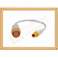 Buy cheap 10 Pin Female IBP Invasive Blood Pressure Cable Siemens Draeger from wholesalers