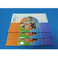 Full Color Saddle Stitch Book Printing Service With Perfect Binding A6 Manufactures