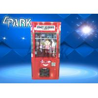 Buy cheap British Style Scissors Cut Gift Claw Crane Game Machine Warranty 1 Year from wholesalers