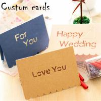 Decorative Paper Greeting Cards CMYK Color With 4C Offset Printing Manufactures
