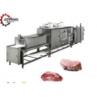 Buy cheap Stainless Steel Beef Thawing Machine 120 - 1800kg/h Large Capacity from wholesalers