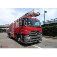Quality Multi Functional Rescue Fire Truck 39 Ton Maximum Speed 104KM/H ISO9001 Certificated for sale