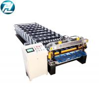Fast speed roof and wall panel roll forming machine with stable feeding device Manufactures