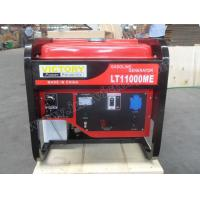 Portable Open Type Gasoline Generator Set 10KVA  Single Phase / Three Phases Manufactures