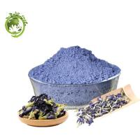 Best Quality Natural colorant Butterfly pea Extract for anti-oxidation; 100% soluble in water Butterfly pea Powder Manufactures