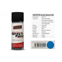400 Ml Aerosol Spray Paint Light Sky Blue Color ForCleaning Grease / Wax / Rust Manufactures
