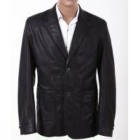 New Men's Western Blazer / Jackets, Classic and Fashionable Mens Leather Suits Manufactures