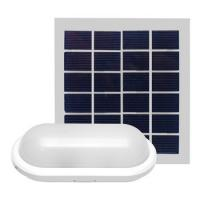 China White Outdoor Solar LED Ceiling Light 6W 10W Long Working Time For Garden on sale