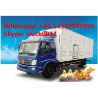 CLW brand baby chick transported truck for sale, hot sale LHD/RHD CLW brand day old chick/duck/goose transported truck Manufactures