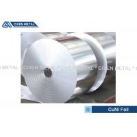 Thermal Stability CuNi44 Copper Nickel Alloy Foils FOR marine equipment Manufactures