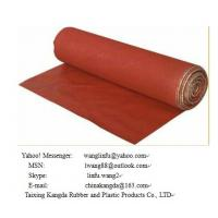 Silicone coated fiberglass fabric ---double side Manufactures