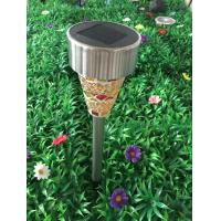 Quality Decorative Solar Powered Path Lights , Quick Installation Mosaic Solar Lights for sale