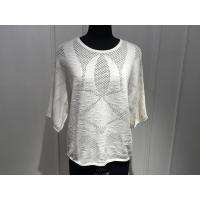 Beautiful Women'S Cotton Pullover Sweaters Hollow Out Knitting OEM / ODM Available Manufactures