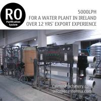 5TPH Ireland Ordered Industrial Water Plant RO Water Treatment System Manufactures