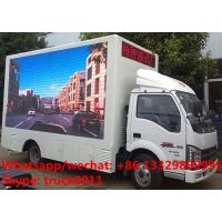JBC LHD mobile digital billboard LED advertising vehicle for sale, China supplier of mobile LED advertising truck Manufactures