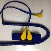 ESD Dual Coiled Cord Elastic Wrist Strap Manufactures