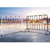 Galvanized Interlocking Steel Barricades Universal Durable Weather Resistant Barrier Manufactures