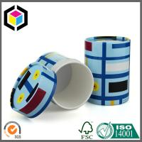 Glossy CMYK Full Color Print Paper Tube; Interior White Cosmetics Paper Tube Manufactures