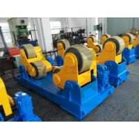 Self Aligned Pipe Tank Welding Rotator For 30 Ton , Max 4200mm Diameter Manufactures