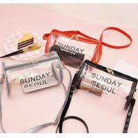Cylinder Shape PVC Gift Bags Plastic Security For Cosmetic Packaging Manufactures