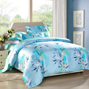 Modern 4pcs Home Bedroom Bedding Sets 100 Percent Cotton Fabric Tancel Duvet Cover Sets Manufactures