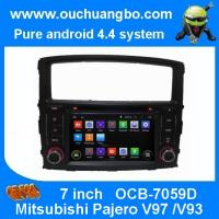Ouchuangbo Indash Car GPS Navi Stereo System for Mitsubishi Pajero V97 /V93 2006-2011 Android 4.4 DVD Radio OCB-7059D Manufactures