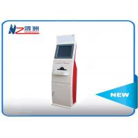 Quality 19 inch touch screen LED card dispenser kiosk with Windows system for sale