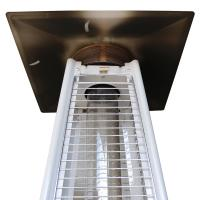 Manual Operating Square Patio Heater Heater For Court Yards Energy Efficient Manufactures