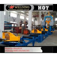 Auto Combination Machine H Beam Welding Line With Assembly / Welding And Straightening Manufactures