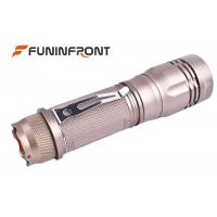 Quality 10W Powerful Zoomable Led Flashlight , Hard Light CREE T6 Tiny Led Flashlight for sale