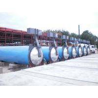 Saturated Steam Wood Chemical Autoclave / Wood Block Machine , High Temperature Manufactures