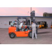 Newly Design Red 4T 6m LPG Forklift Trucks With 2m Long Fork Extension Manufactures
