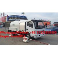 customized new designed DONGFENG 120hp 5500L Bobtail Propane Filling LPG tank dispenser for sale. mobile lpg tank truck Manufactures
