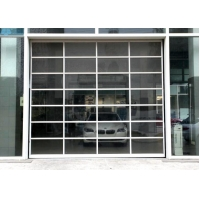 Buy cheap Aluminum Frame Transparent Glass Panel Sectional Garage Doors from wholesalers