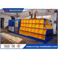 Buy cheap WANSHIDA Horizontal Container Scrap Metal Shear 1400x400mm Output Mouth from wholesalers
