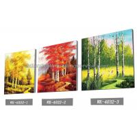Scenery Design 3D Lenticular Printing Service 3D Frameless Pictures Manufactures