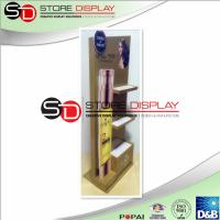 Hair Conditioner Corrugated Cardboard Displays 4C Offset Printing With Inner Tray Manufactures