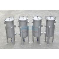 Bag Filter Housing/Stainless Steel Water Filter Housing/Tank 304 Liquid Bag Filter Housing Water Purification Manufactures
