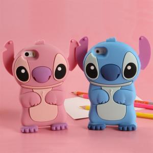 Iphone6/6 plus phone cases Stitch silica gel set apple 6 following cartoon phone set Manufactures
