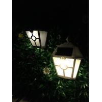 Quality ABS Plastic Solar Wall Lamp Water Resistant Mini Solar LED Yard Lights for sale