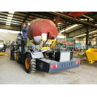 Automatic Weighing System Self Loading Concrete Mixer Truck With Electronic Sensors Manufactures